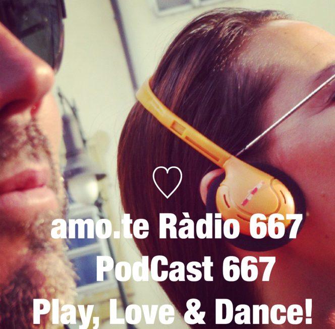 667 amo.te Rádio. Imagem de Promoçãojpg
